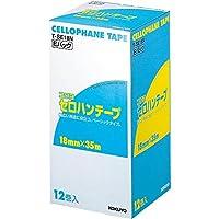 (まとめ買い) コクヨ セロハンテープ 大巻き お徳用Eパック 18mm 12巻入 T-SE18N 【×3】