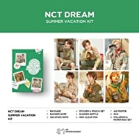 2019 NCT Dream Summer Vacation Kit (incl. 80p Summer Note, 80pVacation Note, Sticker & Pouch Set, Summer Bottle, Mini Clear Fan, A4Poster, DVD + Frame & Postcard Set)