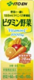 伊藤園 ビタミン野菜 200ml×24本