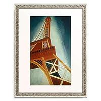 ロベール・ドローネー Robert Delaunay 「La tour rouge」 額装アート作品