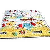 Infant Shining ベビープレイマット 純綿 子供のゲームパッド ベビーマット 厚い 手洗い可能 140CM*200CM (140cm*200cm*2.5cm, Party)