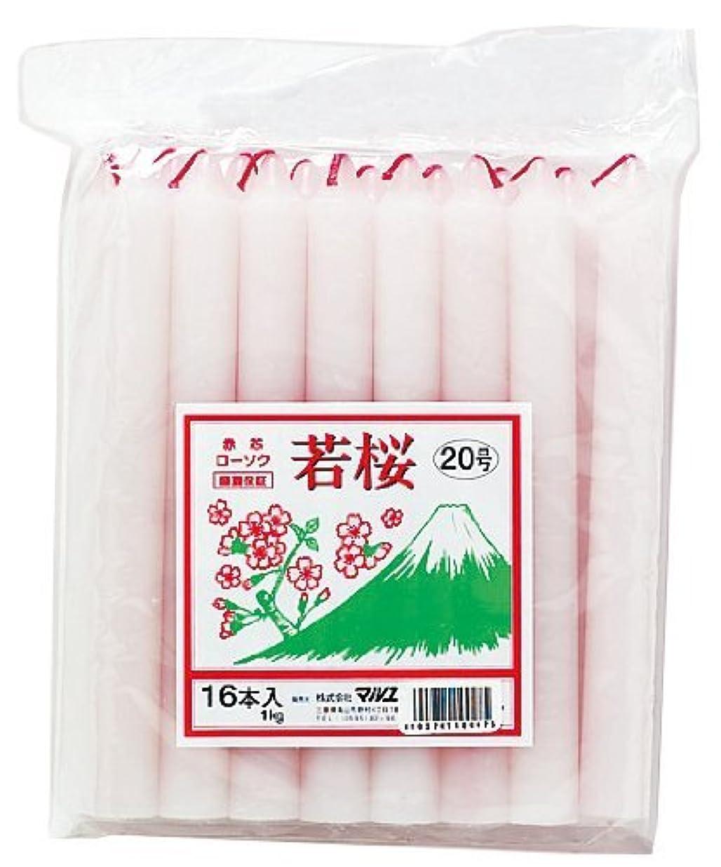 ショートカットダイバーガラガラマルエス 若桜 赤芯20号 1kg