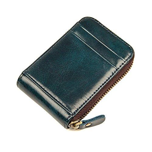 Limerick(リムリック) 財布 本革 カードケース 上質レザー使用 チョコレート 8181 (绀青)