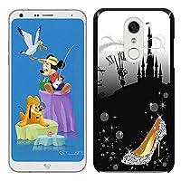 [Breeze-正規品] iPhone ・ スマホケース ポリカーボネイト [BLACK]Disney Mobile on docomo DM-01K ディズニー・モバイル・オン・ドコモケース カバー 液晶保護フィルム付 全機種対応 [DM01K]