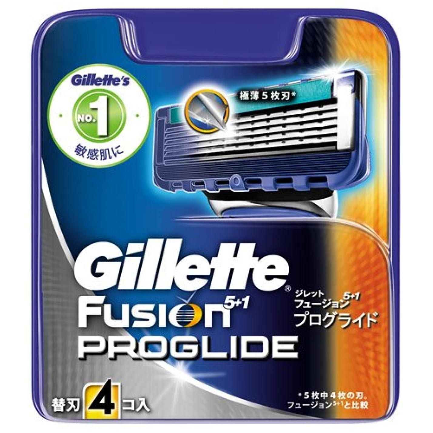肘霧食べるジレット プログライドマニュアル 専用替刃 4B