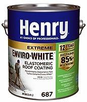 Henry he6870461ガロンホワイトExtreme enviro-white Elastomeric屋根コーティング