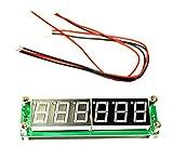 【Wepperin wolks】 6 LED 周波数 カウンタ ー モジュール 1 MHz - 1000 MHz 基盤 デジタル 測定 器 PIC16F648A 青 色 LED