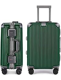 742c56a402 LNMLAN マット加工 アルミニウムマグネシウム合金フレーム スーツケース 機内持ち込みスーツ ...