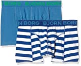 Best Bjorns - Bjorn Borg Men's 2-Pack Poolside Boxer Brief, Monaco Review