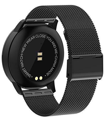 cad67936c9 ... スマートウォッチ スマート腕時計 活動量計 メンズ 心拍計血圧計 血中酸素計 ...