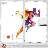 スマホ ケース スマートフォンカバー 手帳型 artruth 手帳型 iPhone 8 Plus(G005803_01) オリンピック 競技 日本 スポーツ 陸上 日本  スマホケース