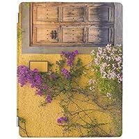 ipad mini123 ケース おしゃれ レザー ipad mini1スマートカバー スタンドタイプ オートスリープ機能付き木の戸口