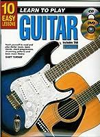 10の簡単なレッスン - ギターを弾くことを学ぶ - 本、CD、DVD