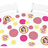 Girl Puppy Dog - Baby Shower or Birthday Party Giant Circle Confetti - Party Decorations - Large Confetti 27 Count [並行輸入品]