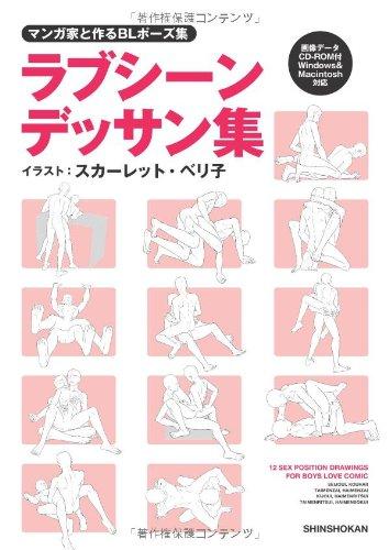 マンガ家と作るBLポーズ集 ラブシーンデッサン集 (データCD付)