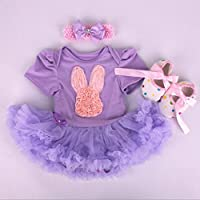 Reborn Dolls Baby Clothes Tutu Dress Outfits for 20