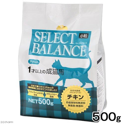セレクトバランス キャット アダルト チキン小粒500g