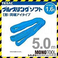 テザック ブルースリング ソフト E型 両端アイ 1.6t × 5.0M