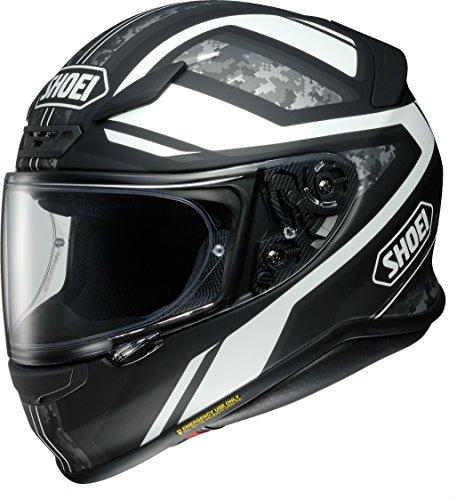 ショウエイ(SHOEI) バイクヘルメット フルフェイス Z-7 PARAMETER(パラメーター) TC-5(WHITE/BLACK)マットカラー M (頭囲 57cm)