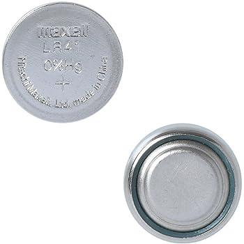 日立マクセル ボタン電池 LR41 5個入