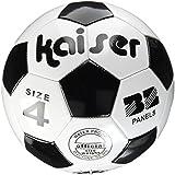 カイザー(kaiser) PVC サッカー ボール 4号 KW-140 小学生用 練習用 空気入れ レジャー ファミリースポーツ