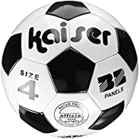 Kaiser(カイザー) PVC サッカー ボール 4号 KW-140 小学生用 練習用 空気入れ レジャー ファミリースポーツ