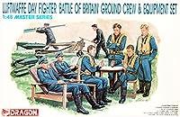 プラッツ 1/48 第二次世界大戦 ドイツ空軍 パイロット & 整備兵 フィギュアセット バトル・オブ・ブリテン プラモデル DR5532
