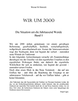 Wir Um 2000 - Band 1