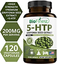BioFinest 5-Htp 200Mg - Griffonia Seed Extract - High Strength & Potency - Supplement For Weight And Appet