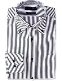 [タカキュー] Taka-Q 形態安定 スリムフィット ボタンダウンシャツ メンズ 110214619268833