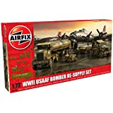 Airfix USAAF 8TH Airforce Bomber Re-Supply Set - 1:72 Scale Model Kit