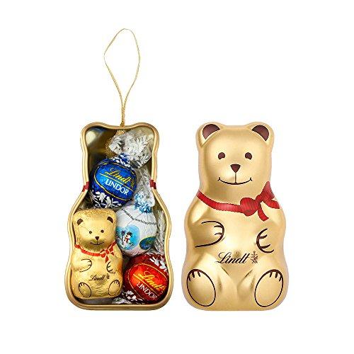 リンツ Lindt チョコレート リンツテディ缶 S クリスマ...