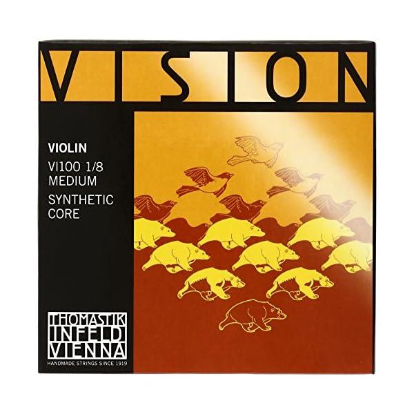 Vision ヴィジョン バイオリン弦セット 1/8の商品画像