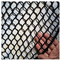 安全ネット 多目的な用途のネット 階段ネット 防護ネット 子供 転落防止網 バルコニーネットブラック子供用階段飛散防止ネットフェンスセーフティネット保護ネットアンチキャットウォールデコレーションビル建設セーフネットサッカー場バスケットボールコートゴルフ場 怪我防止 危険防止 簡単設置 丈夫 取り付けバンド付属 (Size : 3x3m)