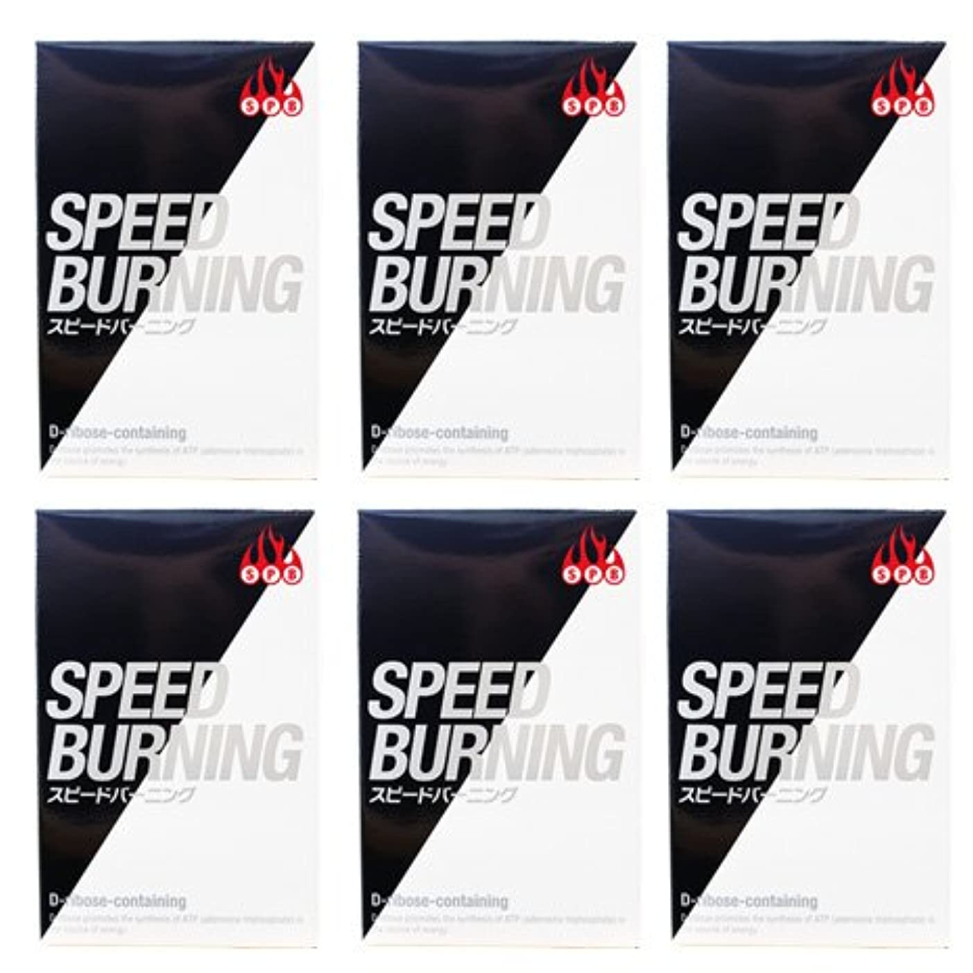 フラッシュのように素早く提供された初期スピードバーニング SPEED BURNING×6個