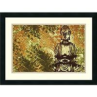 Zen Garden by Erin Clark Framed Fine Art Print - 46cm x 60cm