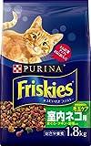 フリスキー ドライ 室内ネコ用 まぐろ・チキン・野菜入り 1.8kg