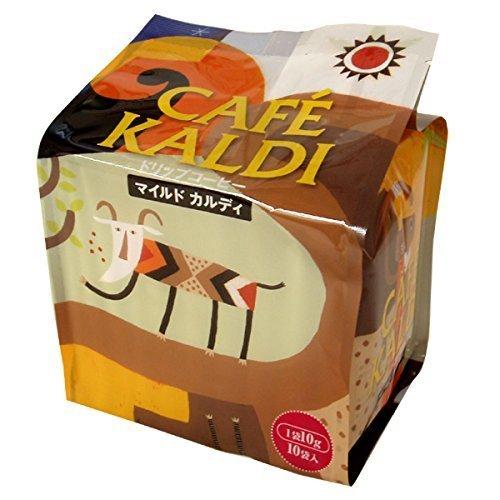 カフェカルディ ドリップコーヒー マイルドカルディ 10g×10P by KALDI(販売者:キャメル珈琲)