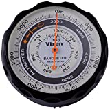 Vixen(ビクセン) 高度計 AL アナログ表示 気圧計付き ブラック 46811