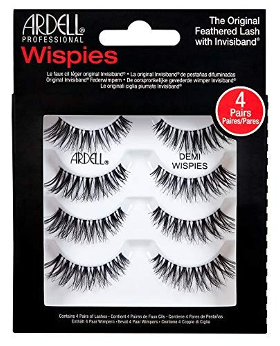 依存隙間歩行者Ardell Multipacks Lashes - Multipack Demi Wispies