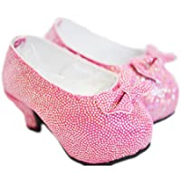 My Brittany's Pink Bow High Heel Shoes for American Girl Dolls