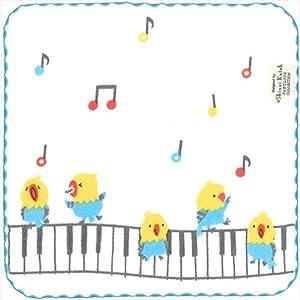 シンジカトウ トーンステップ タオルチーフ 小鳥の歌 SKTC139-03
