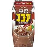 森永乳業 森永ミルクココアプリズマパック 200ml×24本