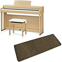 KAWAI CN27LO 防音マットセット 電子ピアノ (カワイ プレミアムライトオーク調)