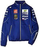 ヤマハ(YAMAHA) ファクトリーレーシング オフィシャルチームウェア MotoGP ソフトシェルジャケット ブルー Mサイズ Q5D-DCT-Y24-00M