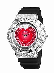[ロマゴ デザイン]ROMAGO DESIGN 腕時計 レディース TREND トレンド RM025-0269PL-SVBK [正規輸入品]