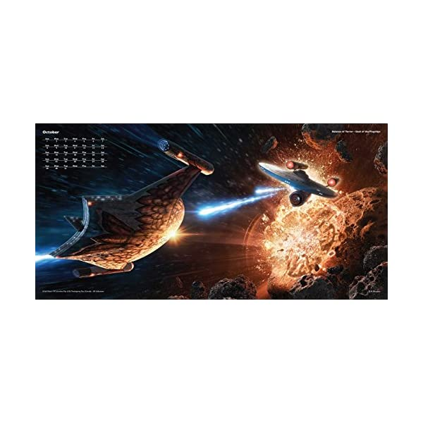 Star Trek 2017 Wall Cal...の紹介画像3