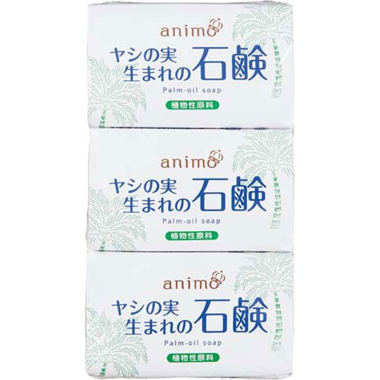 リズム微視的変わるロケット石鹸 ヤシの実石鹸 80g×3個×40パック