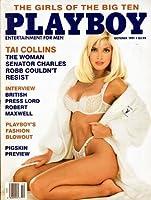Playboy Magazine, October 1991 by Playboy