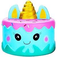 Boomnow かわいい漫画ケーキ ゆっくり元に戻る クリームの香り付き ストレス解消おもちゃ 楽しく遊べる